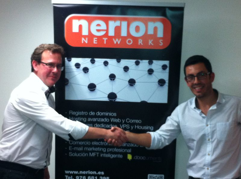 Delegación de nerion en Portugal - Javier Lázaro y Nuno Fernandes