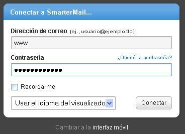 Login SmarterMail 12.x