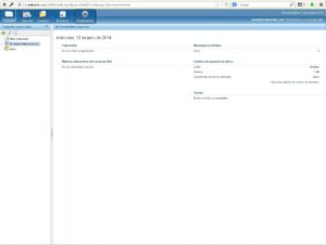 Interfaz inicial smartermail 5