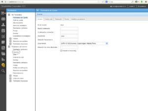 configuración smartermail