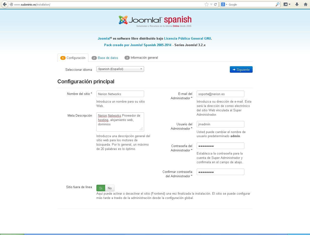 Configuracion-joomla-instalador