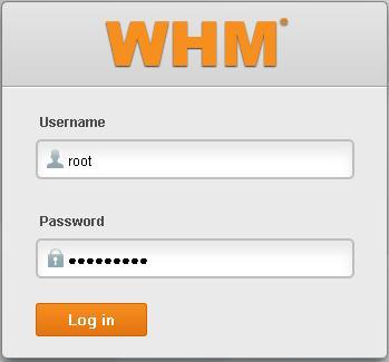 login-whm