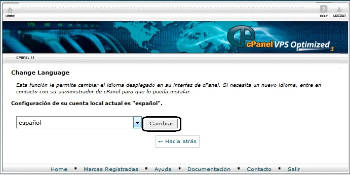 cambiar-idioma-cPanel