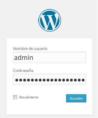 acceso-wordpress