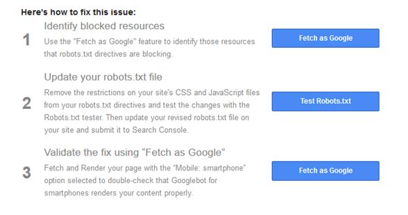Googlebot no accede al CSS y JS de mi web! Qué pasos seguir