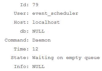 Eventos MySQL