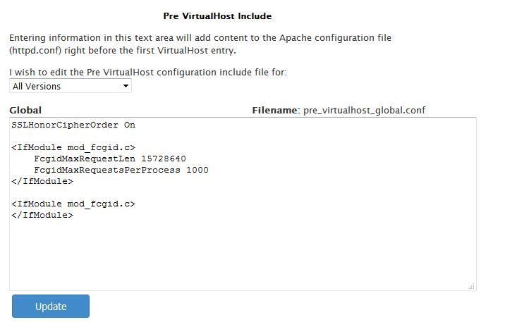 Solución vulnerabilidad Beast TLS