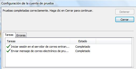 Solución Error Outlook 0x800CCC92