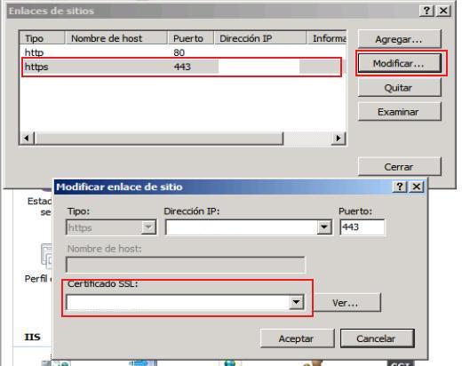 Renovar certificado SSL desde IIS