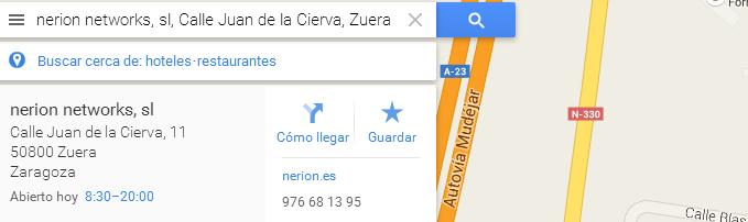 Añadir mapa de Google Maps en WordPress