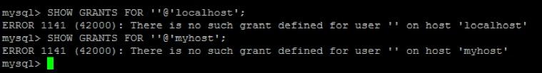 show_grants