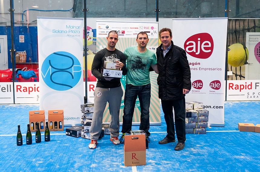 nerion patrocinador del Torneo de Pádel AJE Aragón - MSP Abogados