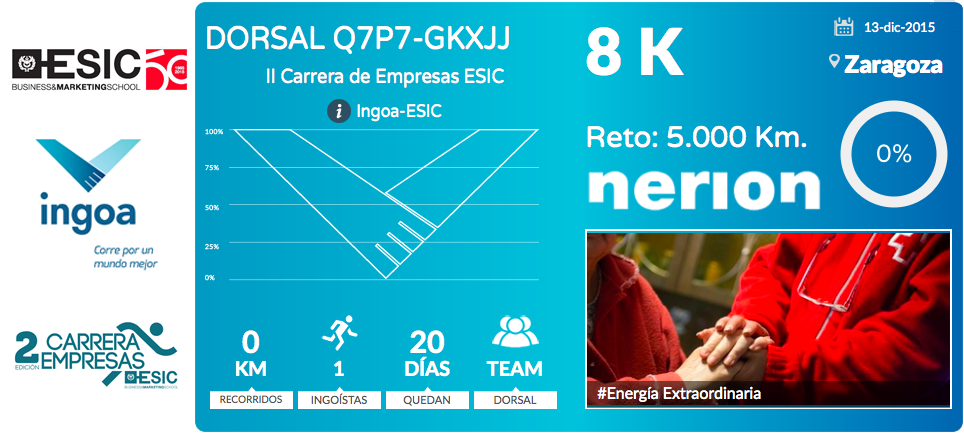 Dorsal INGOA - nerion II Carrera Empresas ESIC