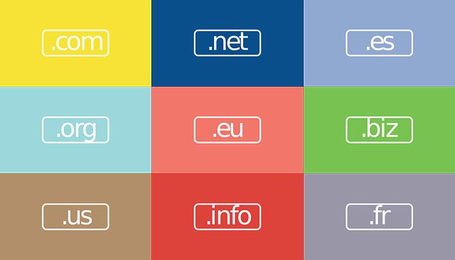 extension de dominio .es