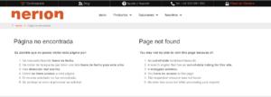 error 404 redireccion problema http