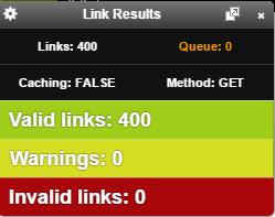 extension chrome para revisar enlaces