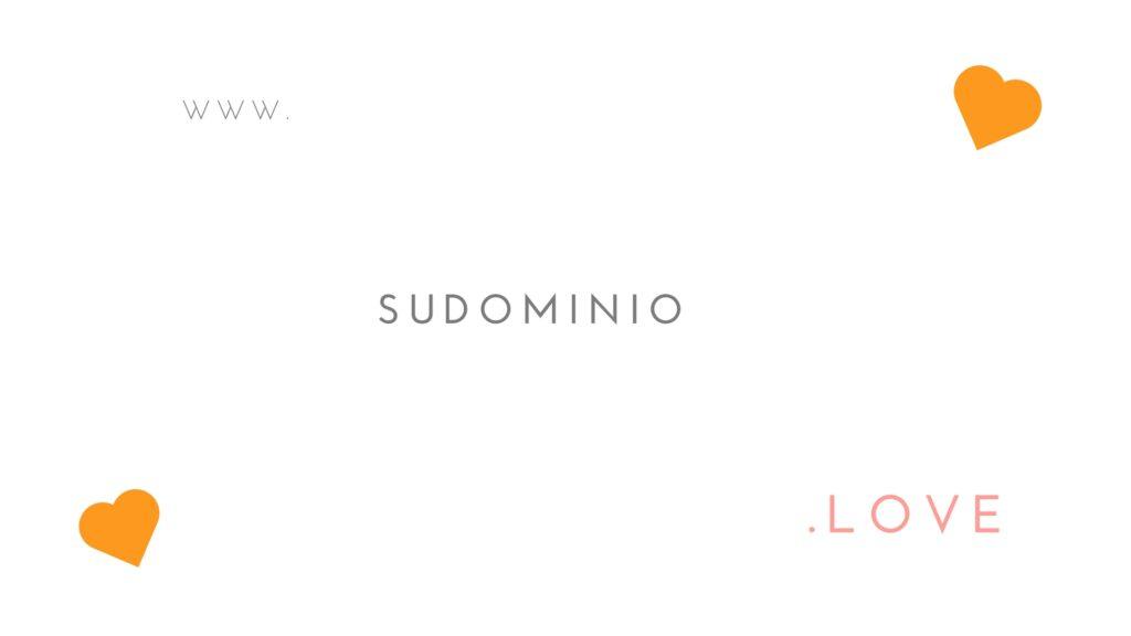 nuevos dominios que demuestran amor
