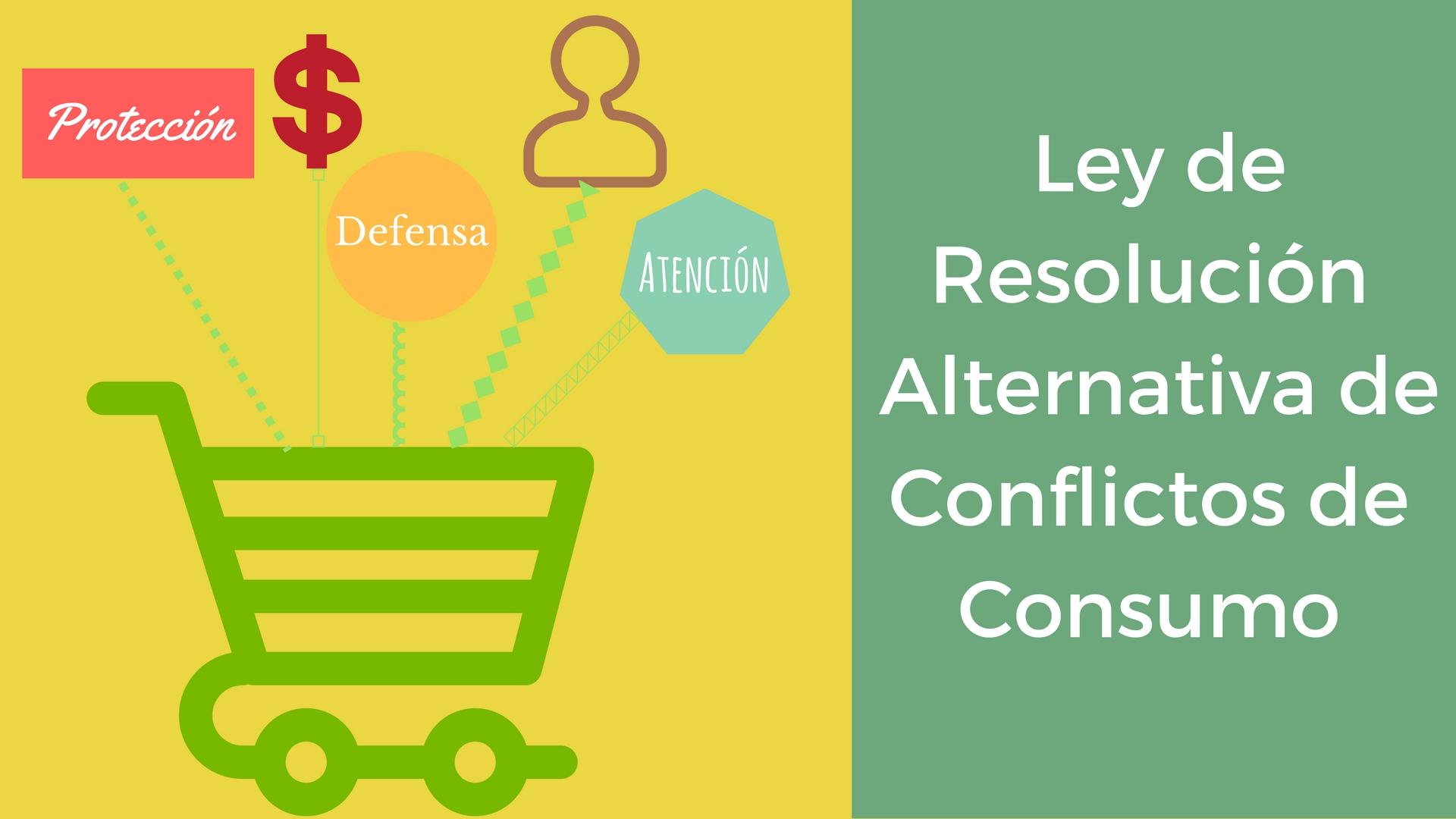 Ley sobre resolución de conflictos de manera alternativa entre el consumidor y el empresario
