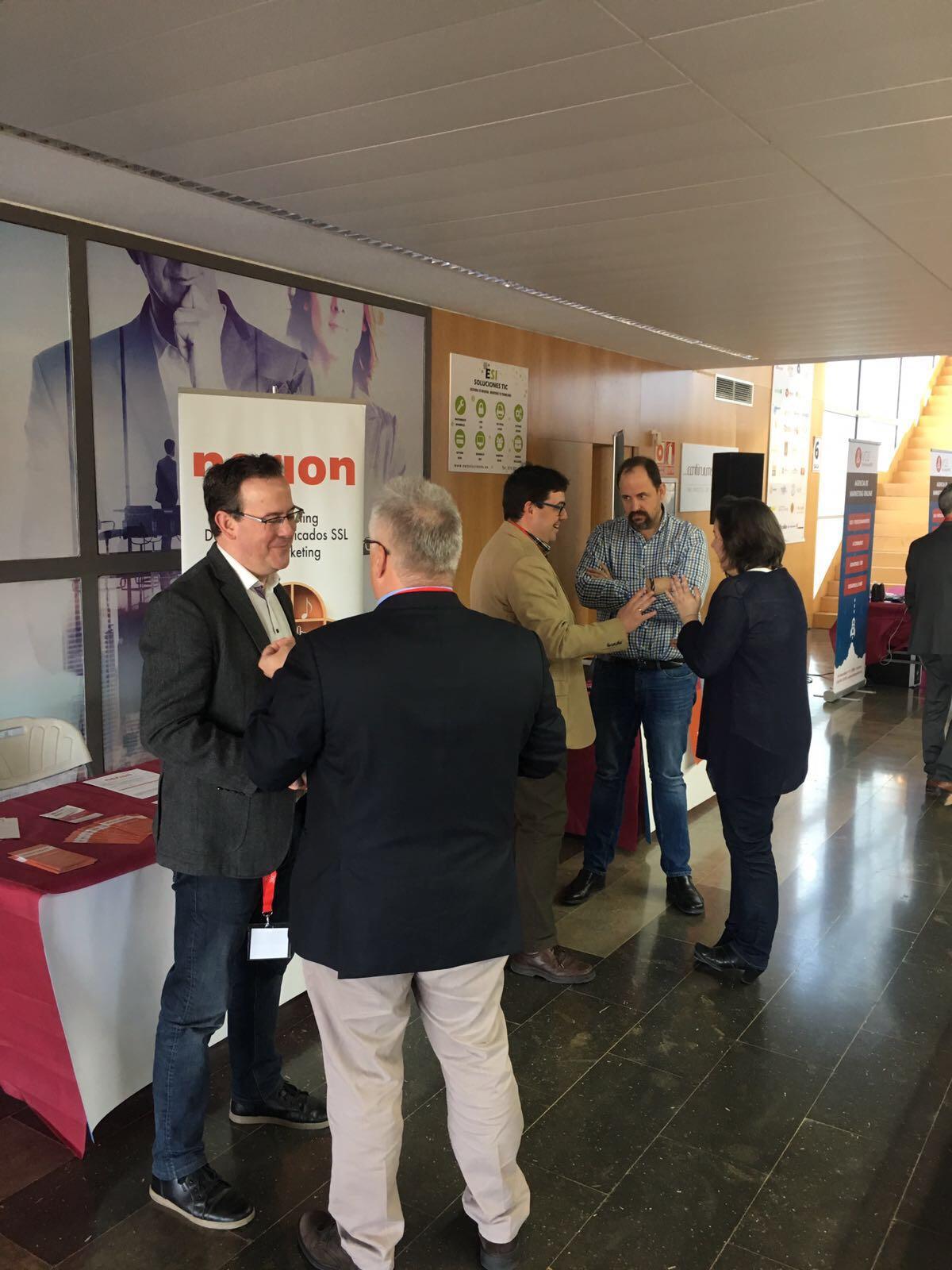 Networking en la XII Feria de Tiendas Virtuales de Aragón
