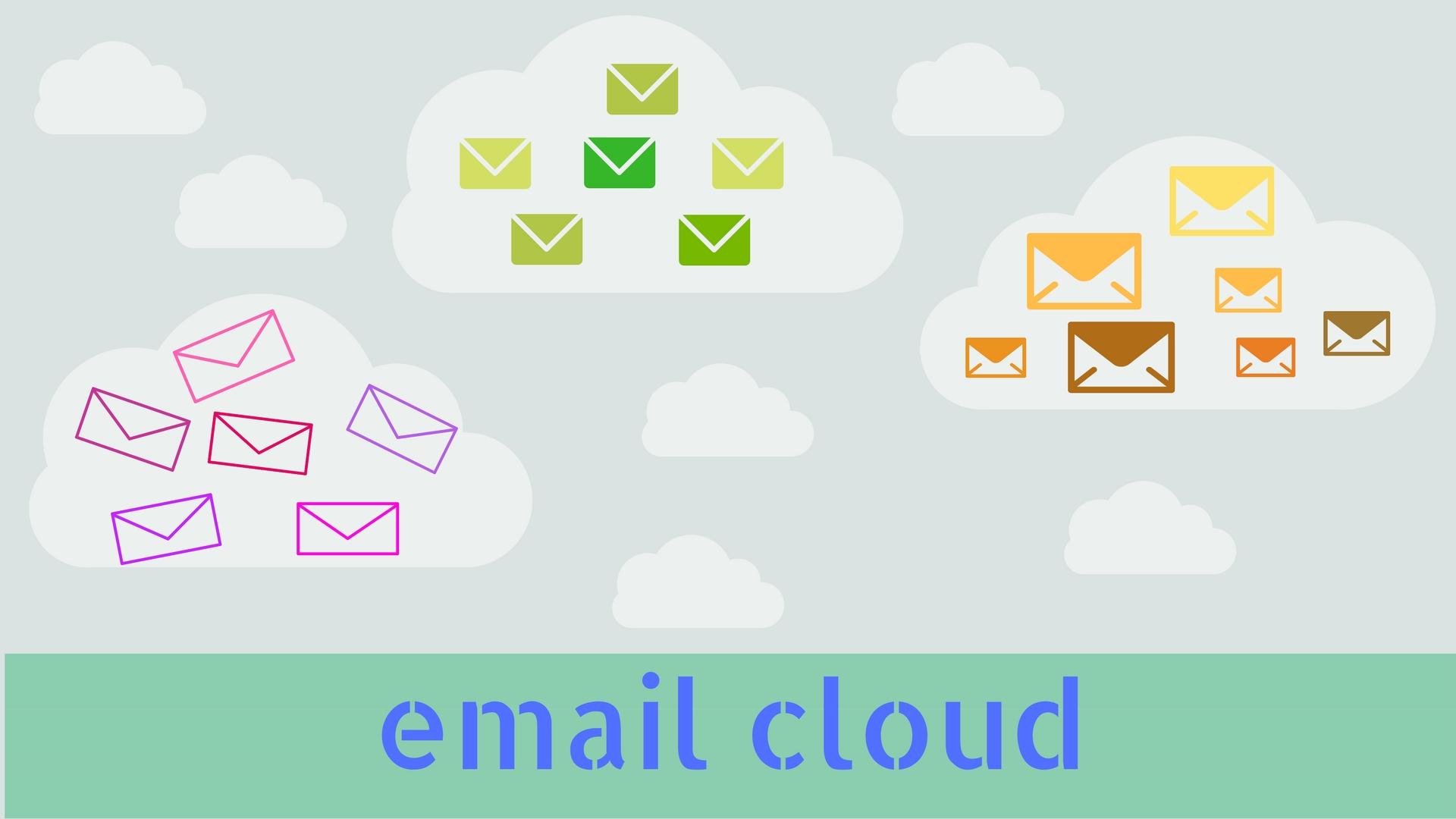 ventajas de trabajar con email cloud