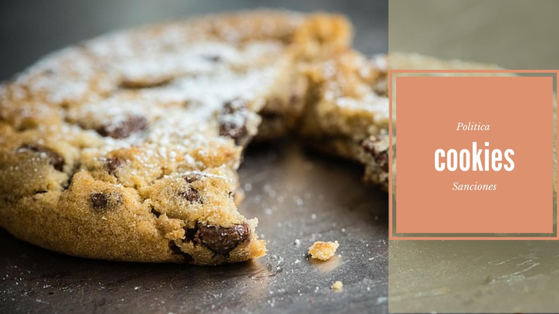 Ley de cookies y sanciones