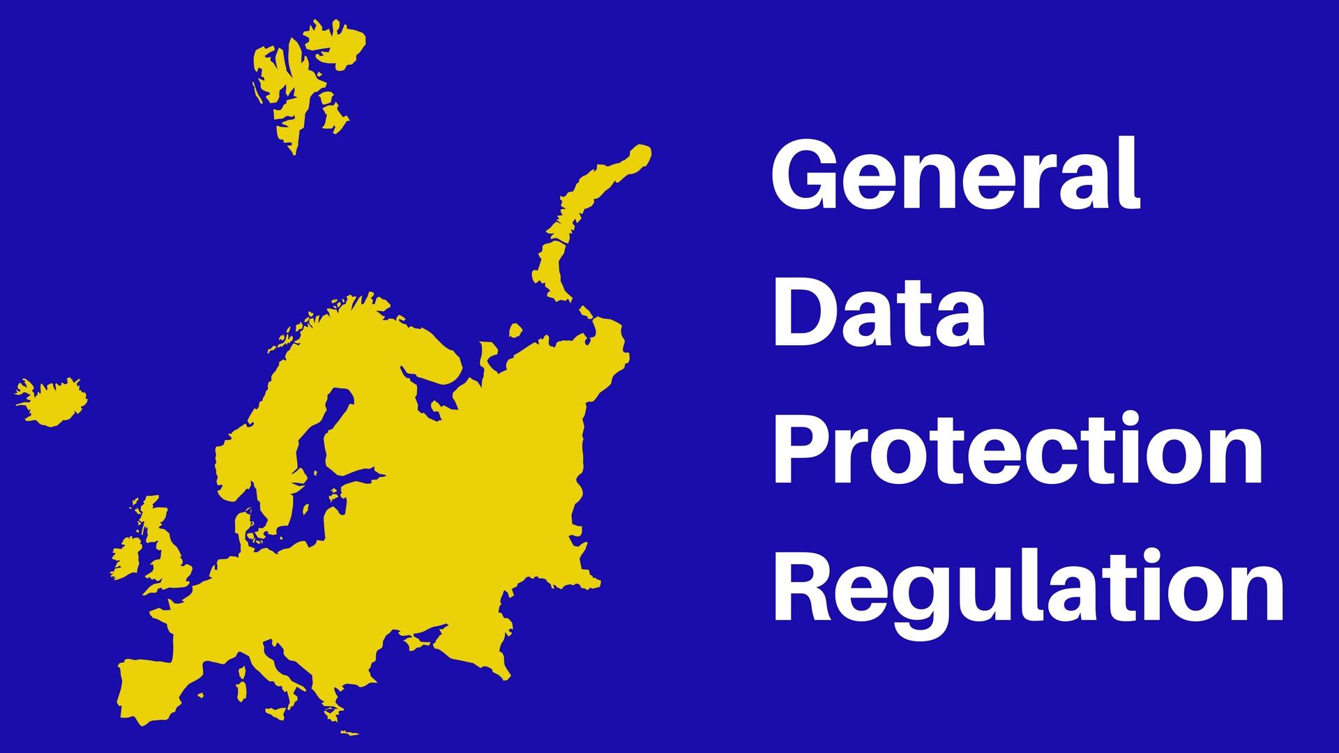 Nueva normativa protección de datos europea GDPR