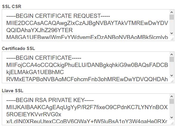confirmacion certificado ssl vestacp