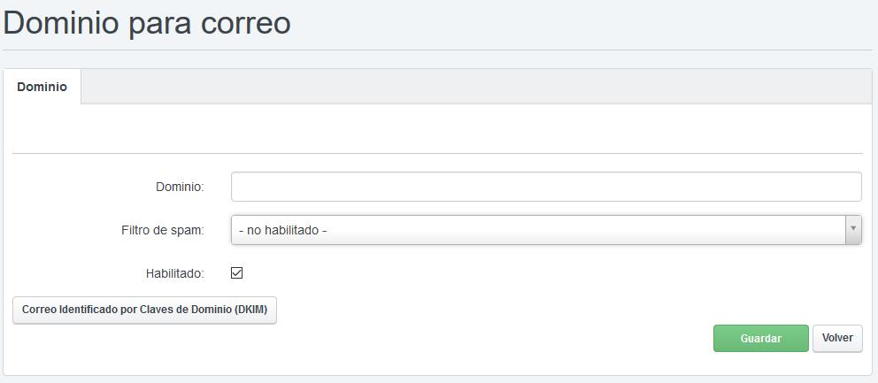pasos crear correo en panel de control hosting