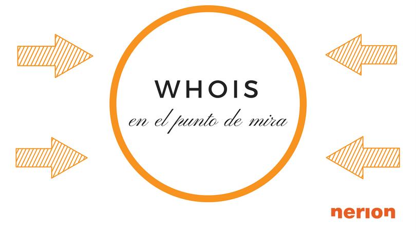 como afecta el gdpr al whois domain