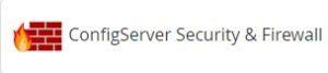 Configuración de seguridad firewall CSF