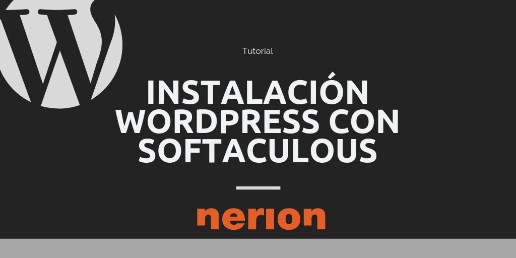 Instalar desde cPanel y softaculous WordPress en tu hosting