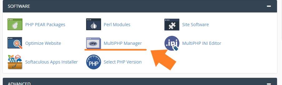 aprende a modificar la versión php con cpanel